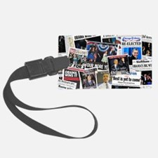 Barack Obama 2012 Re-Election Collage Luggage Tag