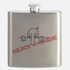 Kilroy Was Here Flask