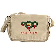 Colombia Christmas 2 Messenger Bag