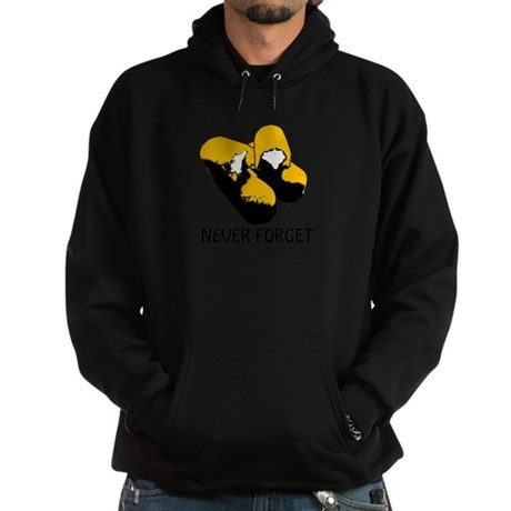 Twinkies_Never_Forget_PingTrans.png Hoodie (dark)
