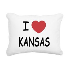 KANSAS.png Rectangular Canvas Pillow