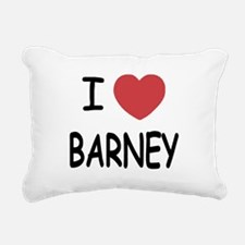 BARNEY01.png Rectangular Canvas Pillow