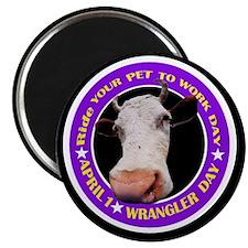 """WRANGLER DAY 2.25"""" Magnet (10 pack)"""