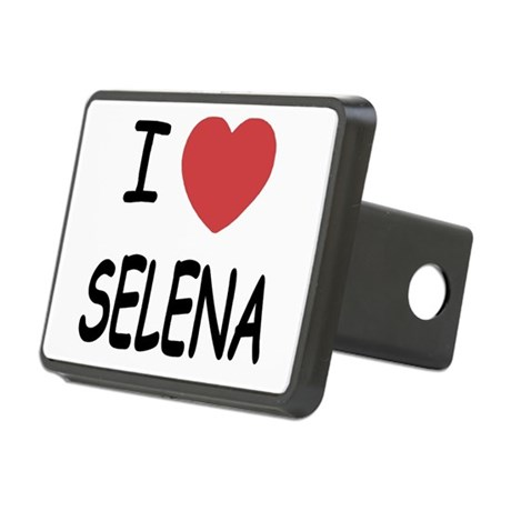 SELENA.png Rectangular Hitch Cover