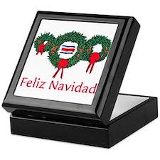 Costa Rica Christmas 2 Keepsake Box