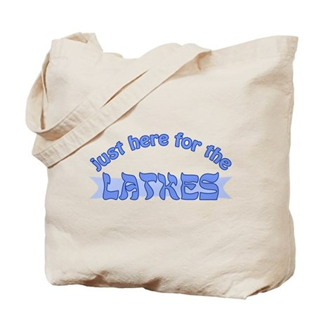 Here for the latkes Tote Bag