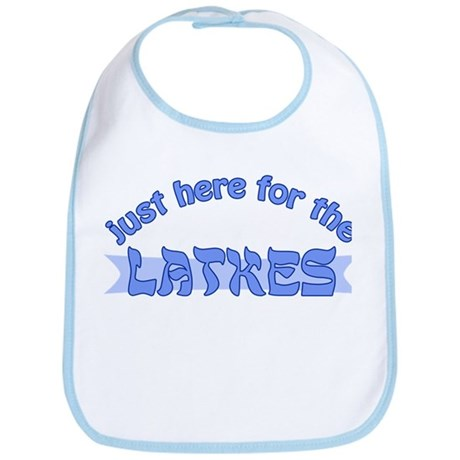 Here for the latkes Bib
