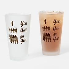 Texas Grammar Lesson Drinking Glass