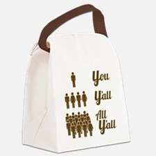 Texas Grammar Lesson Canvas Lunch Bag