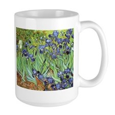 Irises by Vincent van Gogh Ceramic Mugs