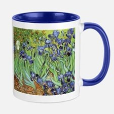 Irises by Vincent van Gogh Mug