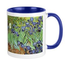 Irises by Vincent van Gogh Small Mugs
