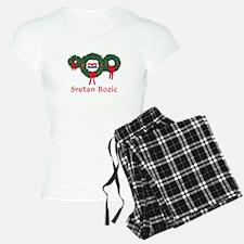 Croatia Christmas 2 Pajamas