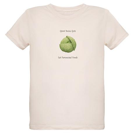 Eat Fermented Foods Organic Kids T-Shirt