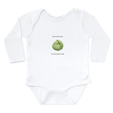 Eat Fermented Foods Long Sleeve Infant Bodysuit