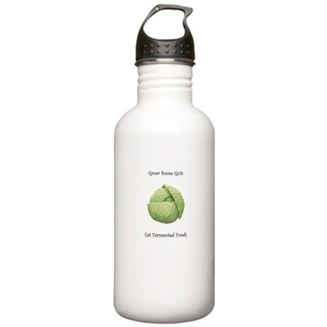 Eat Fermented Foods Stainless Water Bottle 1.0L