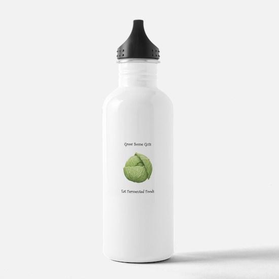 Eat Fermented Foods Water Bottle