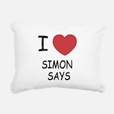 SIMON_SAYS.png Rectangular Canvas Pillow