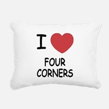 FOUR_CORNERS.png Rectangular Canvas Pillow