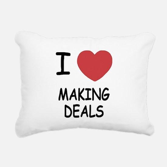 MAKING_DEALS.png Rectangular Canvas Pillow