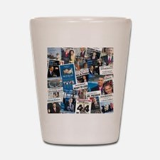 Historic Inauguration Memorab Shot Glass