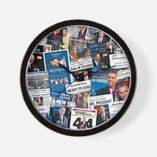 Historic Inauguration Memorab Wall Clock