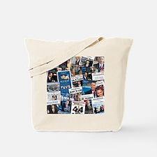 Historic Inauguration Headlines Tote Bag