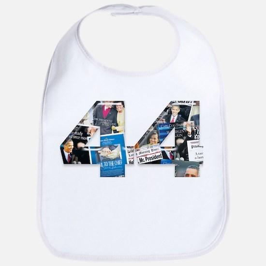 44: Obama Inauguration Newspaper Bib