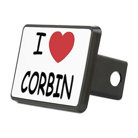 CORBIN.png Rectangular Hitch Cover