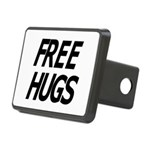 FREE_HUGS.png Rectangular Hitch Cover