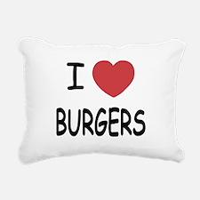 BURGERS.png Rectangular Canvas Pillow
