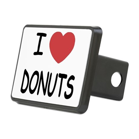 DONUTS.png Rectangular Hitch Cover