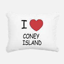 CONEY_ISLAND.png Rectangular Canvas Pillow