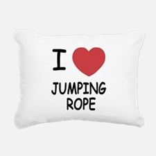JUMPING_ROPE.png Rectangular Canvas Pillow