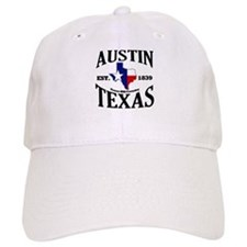 Austin, Texas - Texas Hill Country Towns Baseball Cap