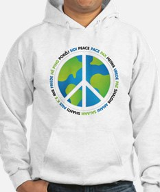 World Peace Sign Hoodie