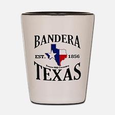 Bandera, Texas Shot Glass