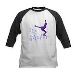 Figure skater girl Baseball Jersey