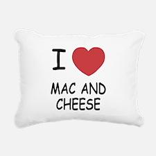 MACANDCHEESE.png Rectangular Canvas Pillow