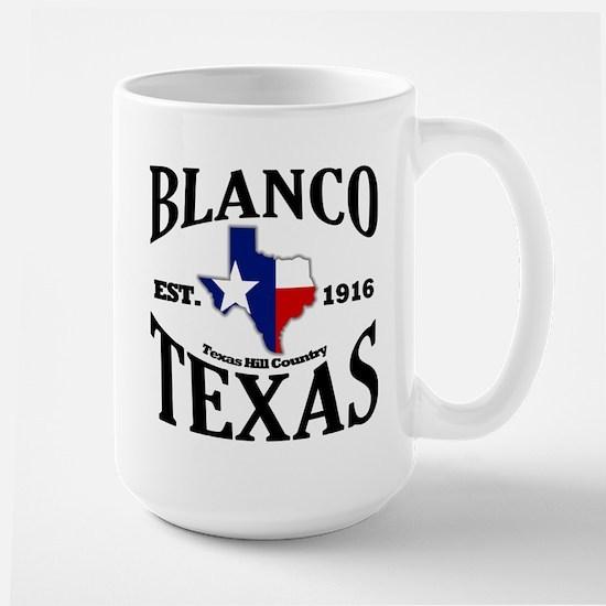 Blanco, Texas - Texas Hill Country Large Mug