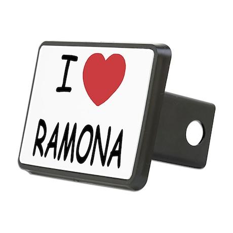 RAMONA.png Rectangular Hitch Cover