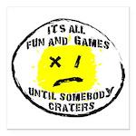 Fun & Games Square Car Magnet 3
