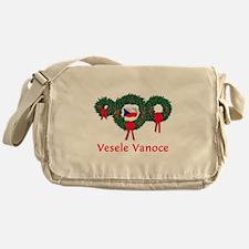 Czech Christmas 2 Messenger Bag