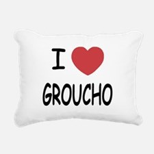 GROUCHO.png Rectangular Canvas Pillow