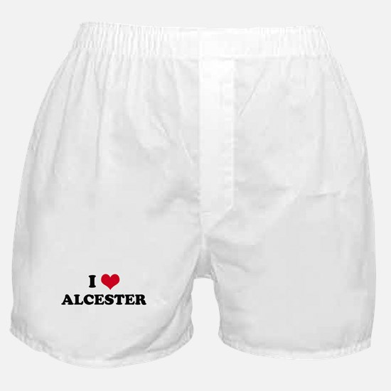 I HEART ALCESTER  Boxer Shorts