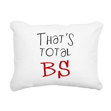 thatstotalbs.png Rectangular Canvas Pillow