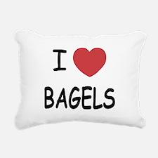 BAGELS.png Rectangular Canvas Pillow