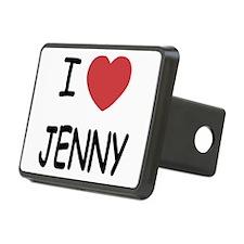 I heart JENNY Hitch Cover