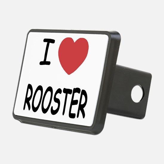 I heart ROOSTER Hitch Cover