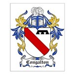 Congalton Coat of Arms Small Poster